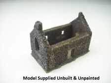 Small Ruined Church WAR GAMING Resin Model 1:72 Scale - 20S106