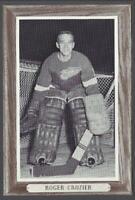 1964-67 Beehive Group III Photos Detroit Red Wings #66 Roger Crozier