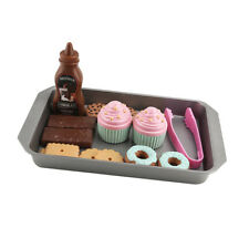Kids Children Desserts Cookies Party Tea Set Pretend Role Play Food Toys