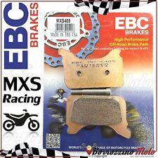 PASTIGLIE FRENO ANTERIORE RACING EBC MX-S 405 APRILIA SXV 450 2009 2010 2011