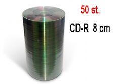 50 st. CD-R 8 cm/210 MB - unbedruckt - shrink