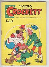PICCOLO CROCKETT  n.   4  - ed. Spada 1959 # ottimo