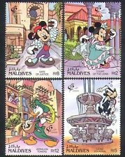 Maldivian Animation & Cartoon Postal Stamps