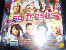 So Fresh The Hits Of Autumn 2016 CD DVD (Zayn Selena Gomez Justin Bieber) – New