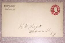 New Listing1910s Usa Scott U93 Type Efo Error Freak Oddity Double Envelope, One Inside