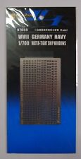 LionRoar Photo-Etched 1/700 WWII Germany Navy Water-tight Ship Windows R7055