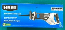 HART 20v System HPRS01 Reciprocating Saw Tool Only Powerful Cutting New