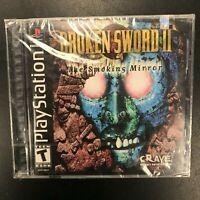 Broken Sword II 2 The Smoking Mirror PS1 New Sealed Complete CIB Playstation 1
