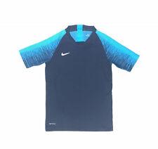Nike Vaporknit Soccer Training DRI-FIT Shirt Youth Unisex M Navy AQ2711 Jersey