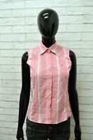 Camicia MURPHY & NYE Donna Taglia Size XS Maglia Shirt Woman Cotone a Righe Slim