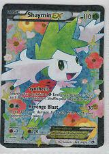 Shaymin EX . Legendary Treasures . RC21.RC25 . Pokemon TCG . NM . Ultra Rare FA