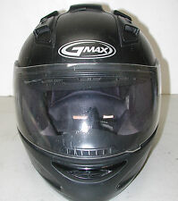 GMAX 68S Black Motorcycle Helmet SZ: XXL