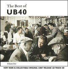 UB40 - Very Best Greatest Hits Collection RARE 1987 Reggae Pop CD Ali Campbell