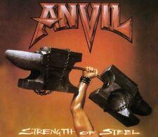 Anvil/Strength of steel-RERELEASE CD 2011 * NOUVEAU *