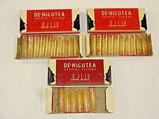 VTG - ALFRED DUNHILL DE-NICOTEA - 26 CRYSTAL CIGARETTE HOLDER FILTERS w/ 3 Boxes