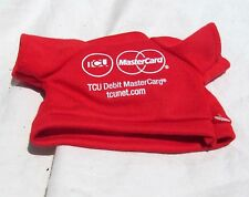 Teacher's Credit Union Doll Clothes Clothing Red Top T-shirt Wine Bottle Cover