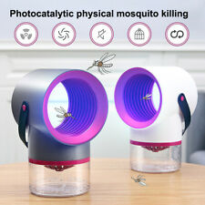 Eléctrico Mosquito Insecto Asesino Luz LED Lámpara de trampa Bicho Zapper Control De Plagas