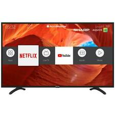 "Sharp 43"" 4K UHD Smart LED TV with Voice Assistant Compatibility"