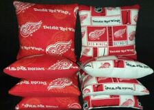 Set of 8 Detroit Red Wings Hockey Cornhole Bags ***FREE SHIPPING***