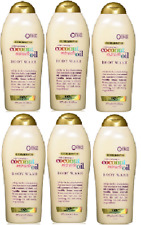OGX Extra Creamy +Coconut Miracle Oil Ultra Moisture Body Wash,19.5 Oz (6 Pack)