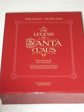 The Legend Of Santa Claus Hallmark Keepsake Ornament Collector'S Club Set Of 5