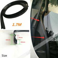 17m Rubber Car Seal Under Front Windshield Panel Sealed Trim Moulding Strip Kit Fits Saab
