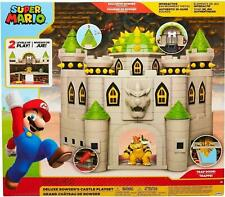 Super Mario 2.5 Inch Figures - Deluxe Bowser's Castle Playset