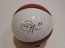 Ben McLemore Signed Mini White Panel Basketball w/COA Kansas Jayhawks Proof #3