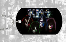 KISS DOG TAG Pendant Necklace rock music gift collectable memorabilia band gene