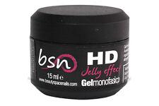 GEL UV HD MONOFASICO 15 ml NOVITA' RICOSTRUZIONE UNGHIE NAILART 3D ALTA DENSITA'