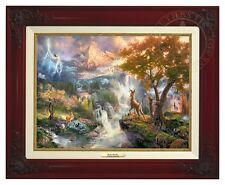 Thomas Kinkade - Disney's Bambi Canvas Classic (Brandy Frame)