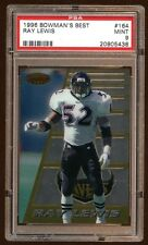PSA 9 RAY LEWIS 1996 BOWMAN BEST RC ROOKIE SP #164  RAY LEWIS BEST RC CARD EVER