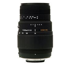 SIGMA 70-300mm DG Lens SONY Alpha a33 a55 a68 a65 a58 NEW + 4 YEAR USA WARRANTY