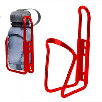 Red Lightweight Bicycle Sports Water Bottle Holder Cage Drinks Mountain Bike