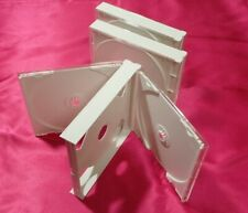 FAT DOUBLE JEWEL CASES (white) x 3 pieces set with Tray Product of Japan 2CD