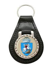 Craiova (Romania) Leather Key Fob