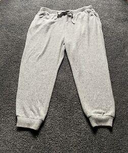 Torrid Super Soft Sleep Pants Gray Fleece Plus Size 2 (18/20, 2X) Pockets