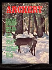 VINTAGE COLLECTIBLE Archery Magazine DECEMBER 1976 Archery & Hunting