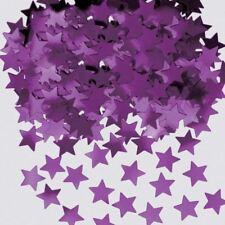 Purple Star Dust Metallic Confetti Birthday Celebration Party Table Sprinkles