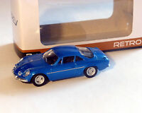 Renault Alpine A110 bleu-métallisé, NOREV, 1:64