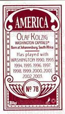 2003-04 Topps C55 Minis American Red #78 Olaf Kolzig