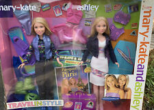Mary-Kate and Ashley Dolls Travel in Style Passport to Paris Set New in Box READ