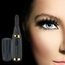 Mini USB Rechargeable Electric Heated Eyelash Curler Women Beauty Makeup Curling