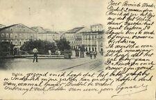 brazil, BAHIA, Street Scene with Hotel (1900)