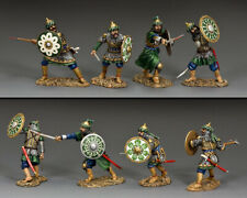 """KING AND COUNTRY CRUSADERS The Fighting Saracens"""" Set of four figures MK201"""