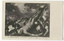 Luca Giordano - Crocefissione di S.Pietro - Accademia, Venezia/Venice - Art Card
