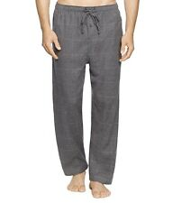 Polo Ralph Lauren Men's Lounge Pants Sz Small Flannel Sleep Charcoal Stripe New