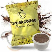300 CIALDE CAPSULE COMPATIBILI LAVAZZA ESPRESSO POINT CAFFE' BREAK COFFEE RICCO