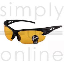 Visión nocturna de conducción antirreflejo HD Gafas Gafas de sol controlador amarillo de prevención