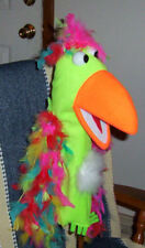 Black light Effective Ventriloquist Bird Puppet-ministry,Education-NEW